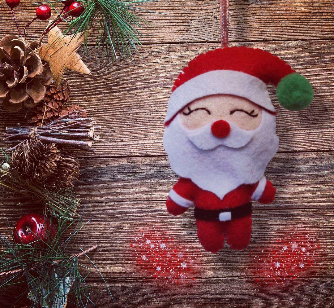 Iklinbanner santa