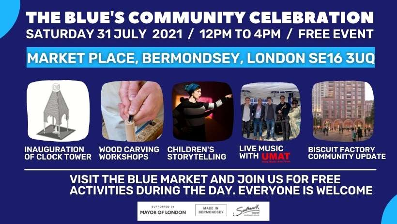 Blue Bermondsey Market Event 31 07 2021 featured image